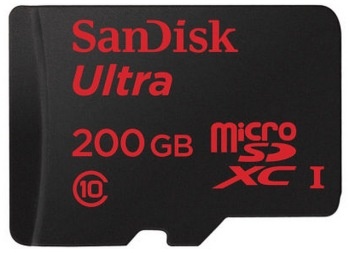 SanDisk launches 200GB but forget about it if you buy the new Samsung