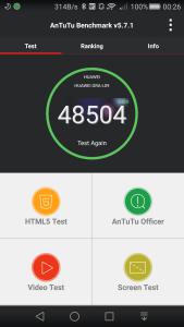 Huawei P8 AnTuTu Score