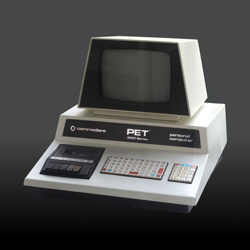 This is a Commodore PET. Nobody likely cares about this enough to buy a phone named after it. Photo by Rama.