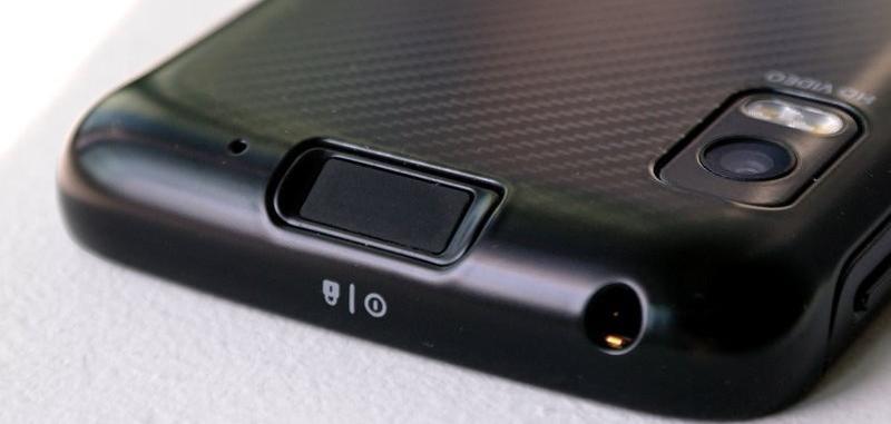 2011 Fingerprint technology (Motorola Atrix)