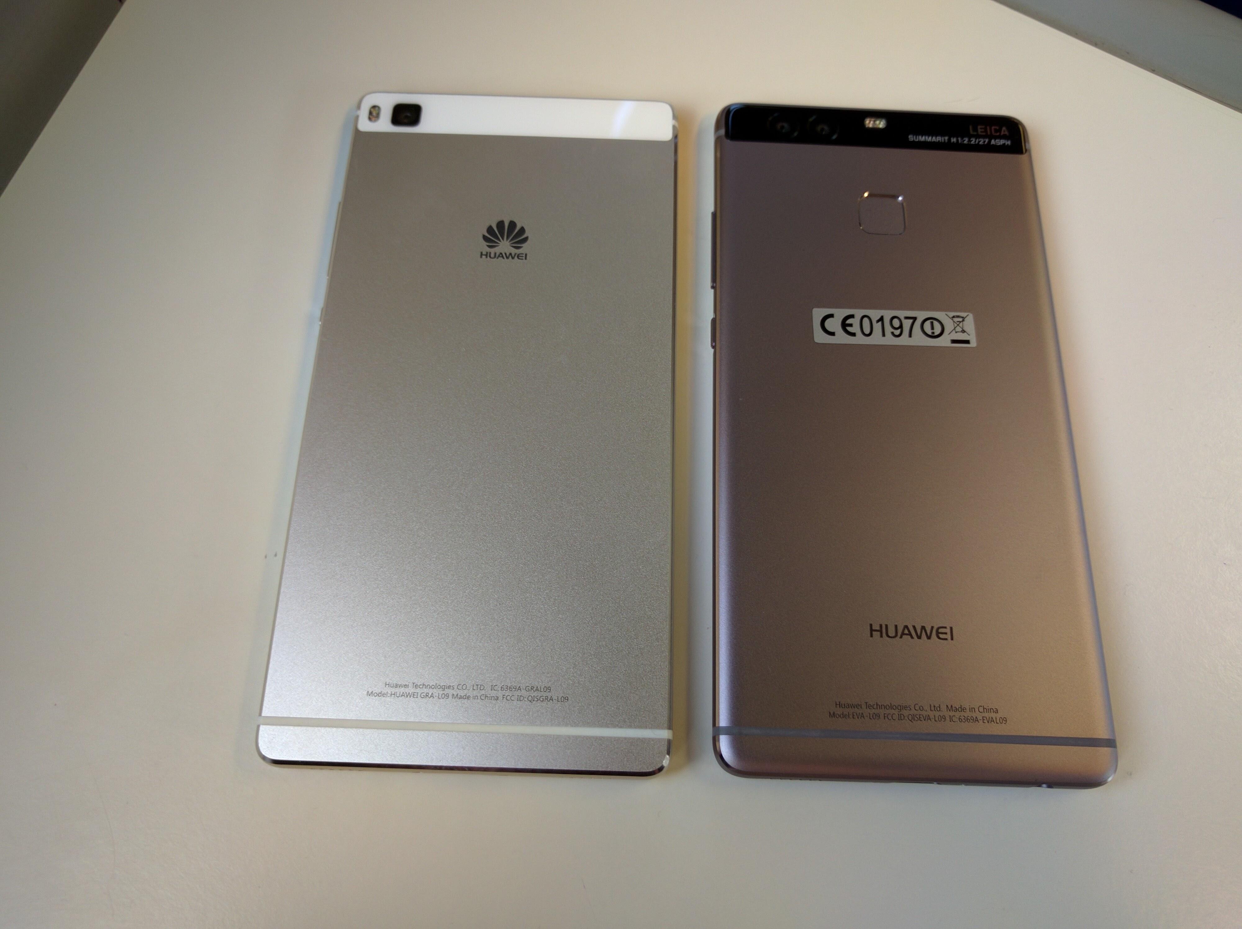 huawei p9 grey. huawei p9 vs p8 grey