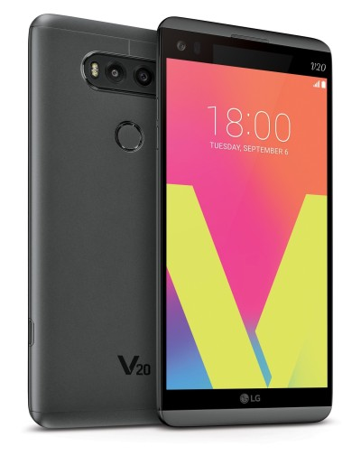 LG V20 front and back