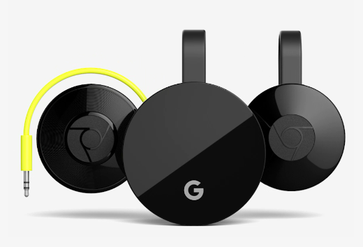 Chromecast line-up