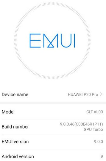 EMUI 9 beta